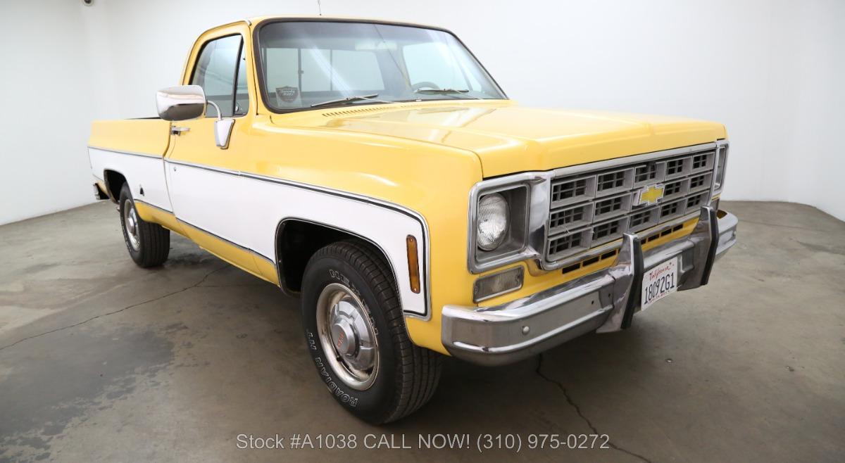 1977 Chevrolet C20 Silverado Camper Special 3 4 Ton