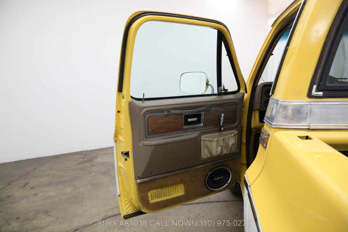 Used 1977 Chevrolet C20 Silverado Camper Special 3/4-ton | Los Angeles, CA