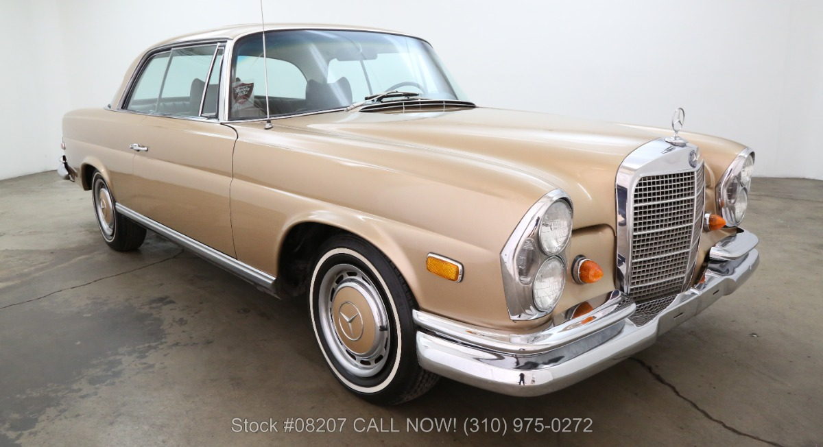 1969 mercedes benz 280se sunroof coupe beverly hills car for Mercedes benz sunroof