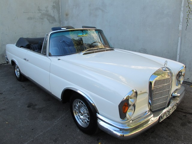 1966 mercedes benz 250se beverly hills car club for Mercedes benz service beverly hills