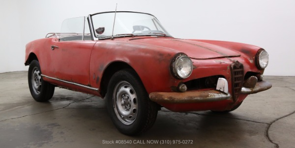 1963 Alfa Romeo Giulietta Spider