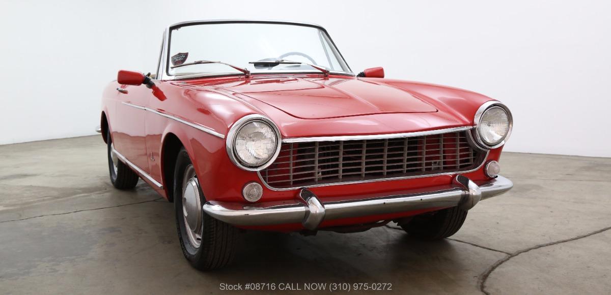 1965 fiat 1500 cabriolet beverly hills car club. Black Bedroom Furniture Sets. Home Design Ideas