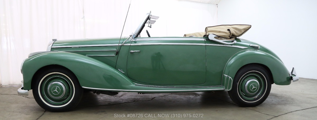1953 mercedes benz 220 cabriolet a beverly hills car club for 1953 mercedes benz 220 sedan for sale