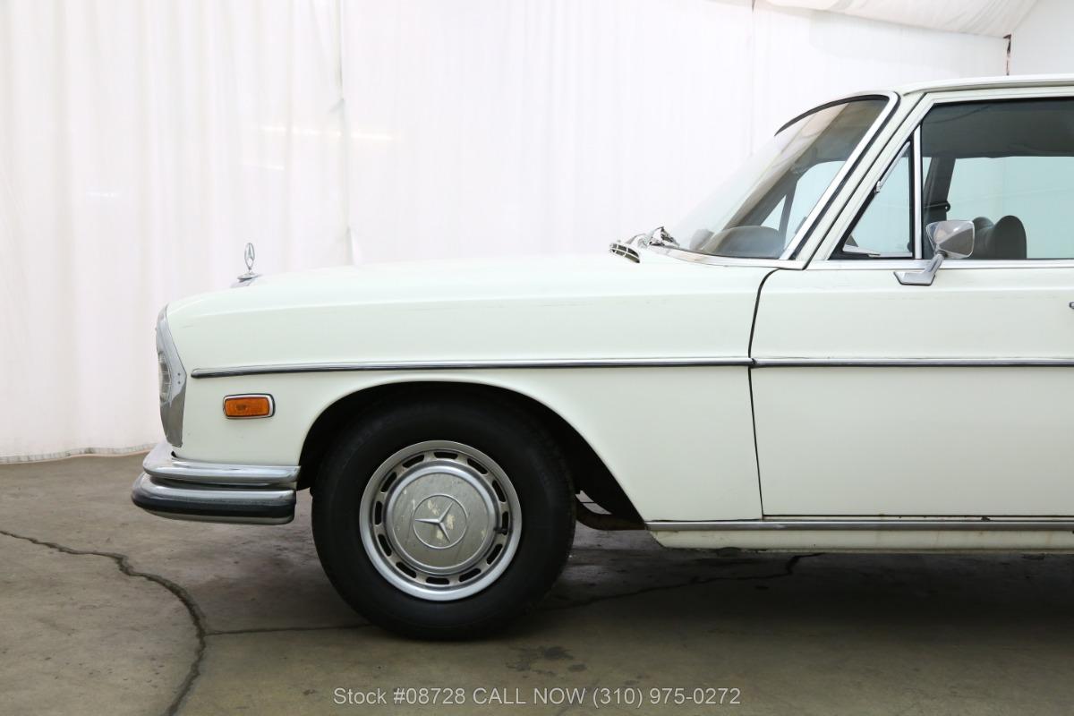 1972 mercedes benz 280se sedan beverly hills car club. Black Bedroom Furniture Sets. Home Design Ideas