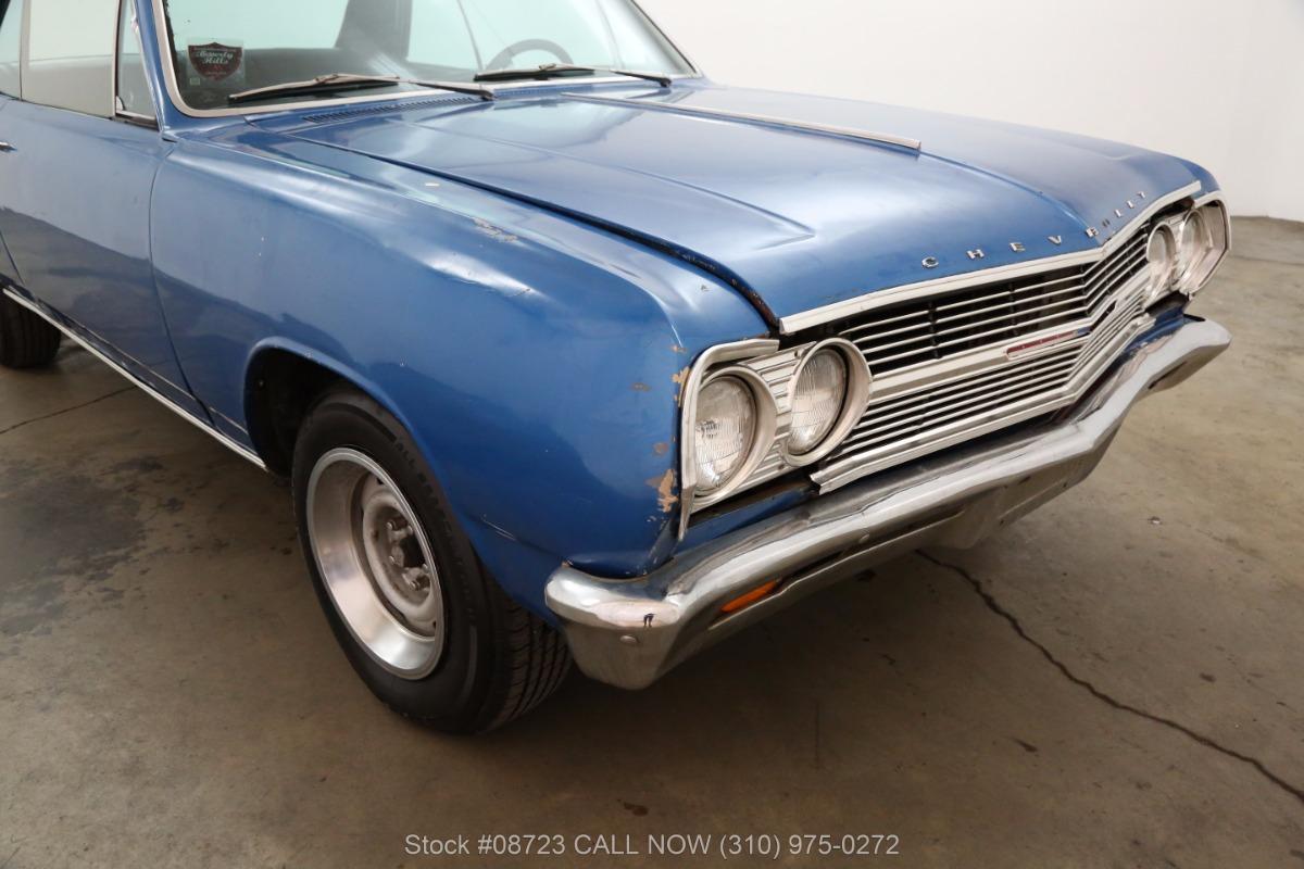 1965 Chevrolet Malibu SS   Beverly Hills Car Club
