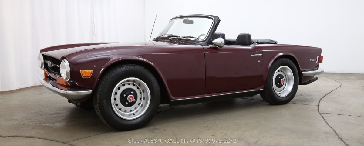 1971 Triumph TR6 | Beverly Hills Car Club