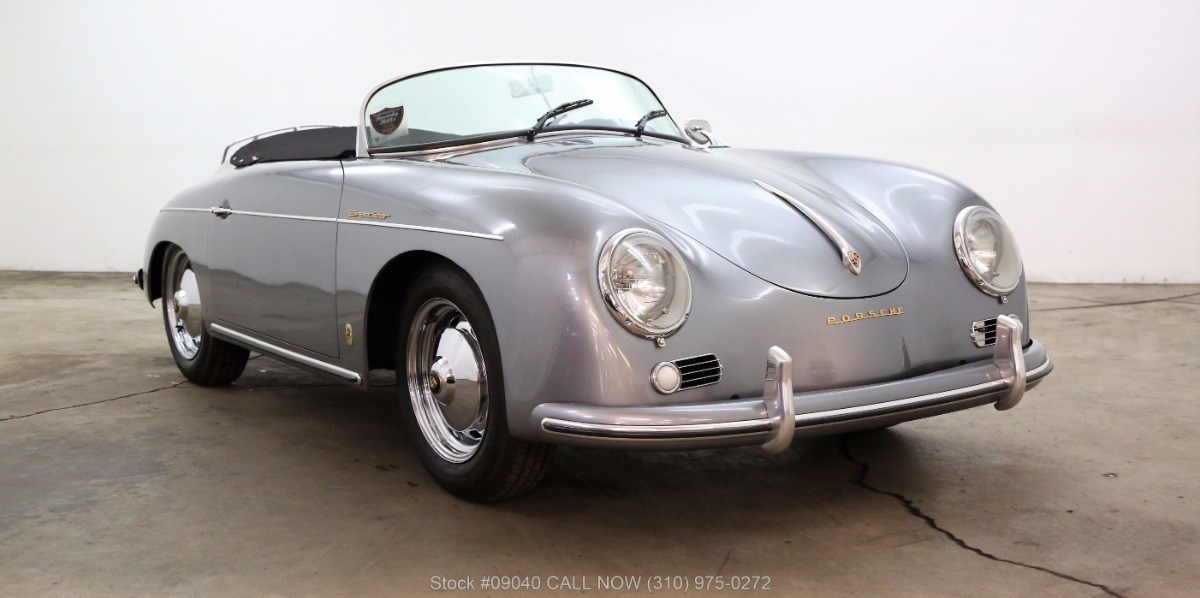1957 porsche speedster replica built by vintage speedsters. Black Bedroom Furniture Sets. Home Design Ideas