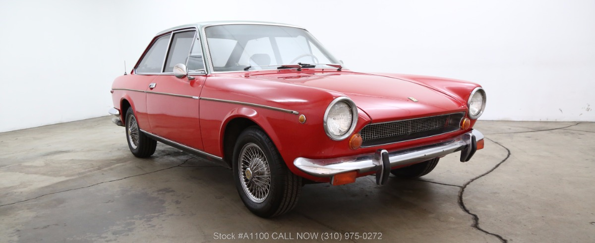 1969 fiat 124 ac sport coupe beverly hills car club. Black Bedroom Furniture Sets. Home Design Ideas