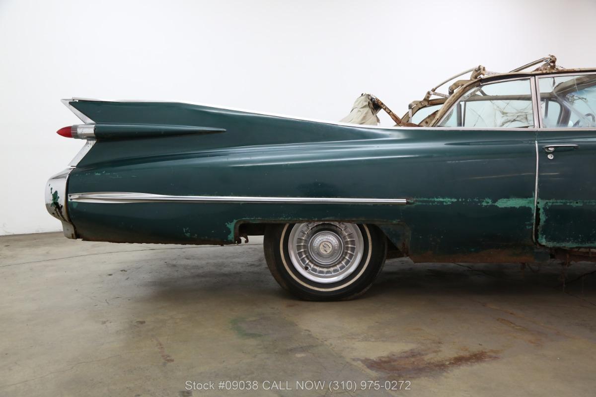 1959 Cadillac 62 Series Convertible Beverly Hills Car Club