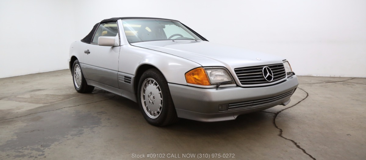 1992 mercedes benz 500sl beverly hills car club for Mercedes benz of beverly hills inventory