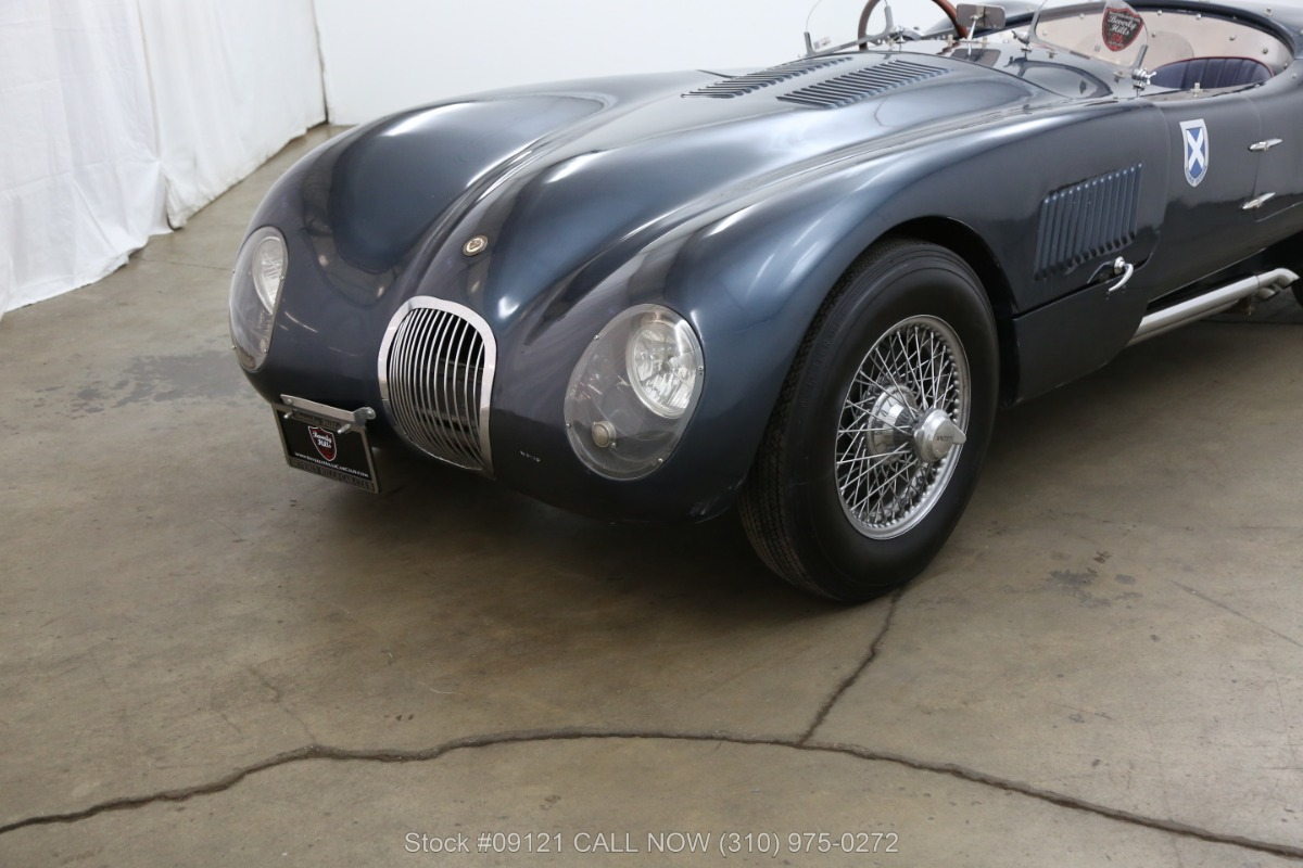 Jaguar jaguar c : 1954 Jaguar C-Type Replica | Beverly Hills Car Club