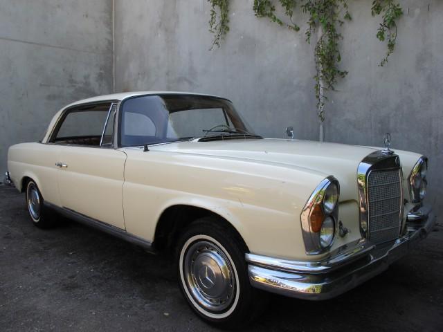 1964 mercedes benz 220seb coupe for 1964 mercedes benz