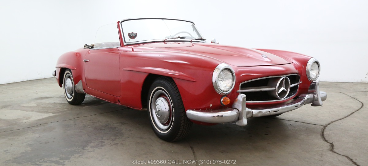 1959 Mercedes-Benz 190SL with 2 Tops