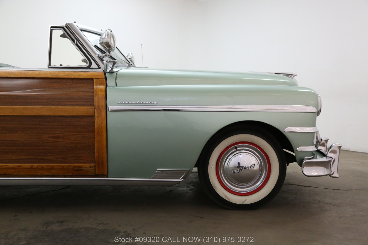 1949 Chrysler Town And Country Woody Beverly Hills Car Club Crown Imperial Used Los Angeles Ca