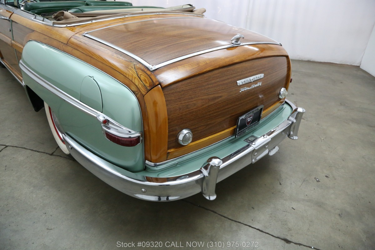 1949 Chrysler Town And Country Woody Beverly Hills Car Club Used Los Angeles Ca