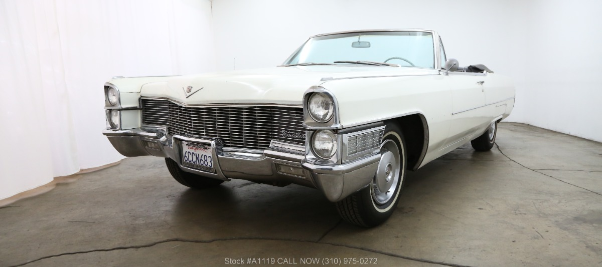 1965 Cadillac Deville Convertible Beverly Hills Car Club
