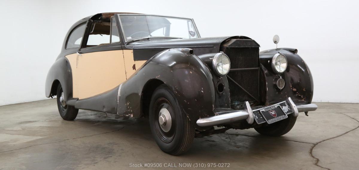 1950 Bentley Mark IV Sedanca De Ville By James Young
