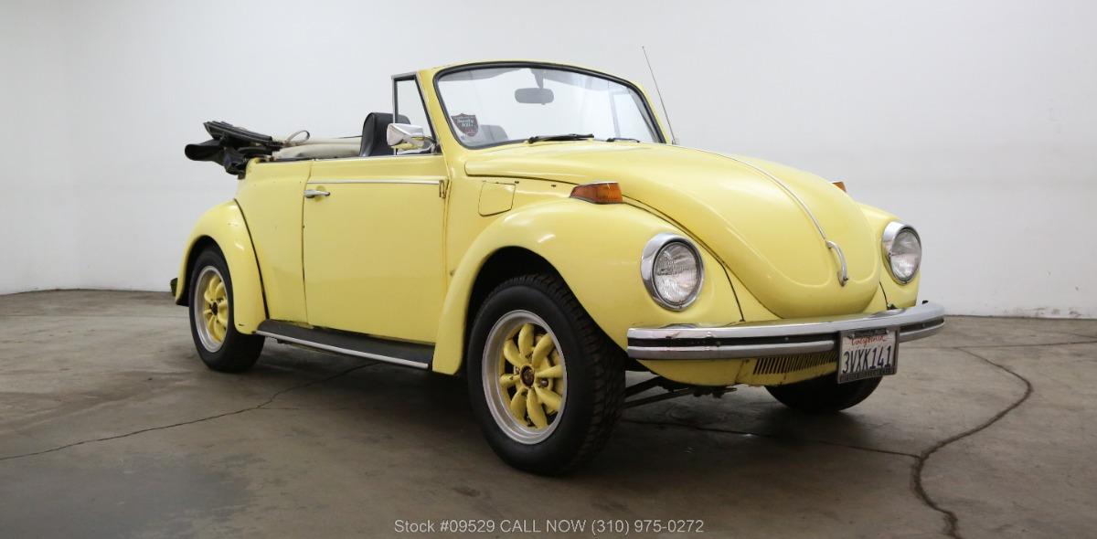 1971 Volkswagen Beetle Cabriolet