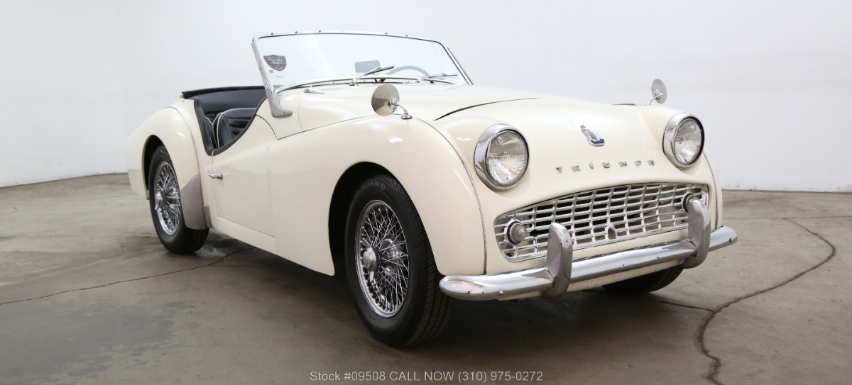 1959 Triumph Tr3 Beverly Hills Car Club
