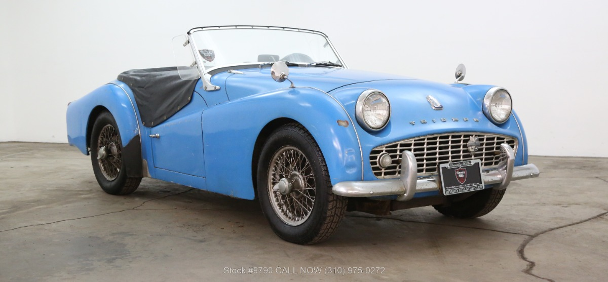 1962 Triumph Tr3 Beverly Hills Car Club