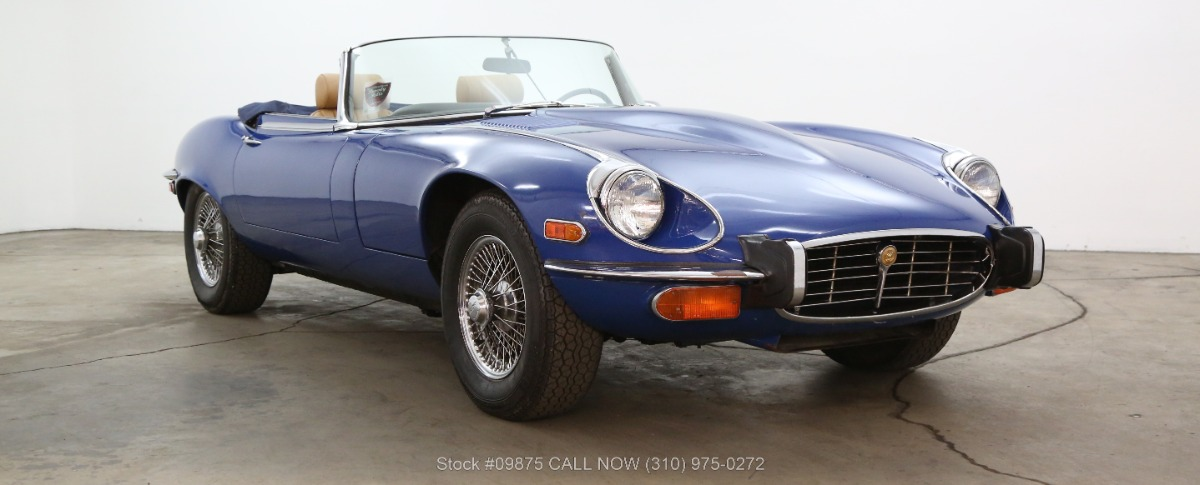 1973 Jaguar XKE V12 Roadster