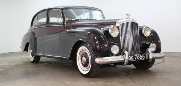 1953 Bentley R-Type James Young Sedan