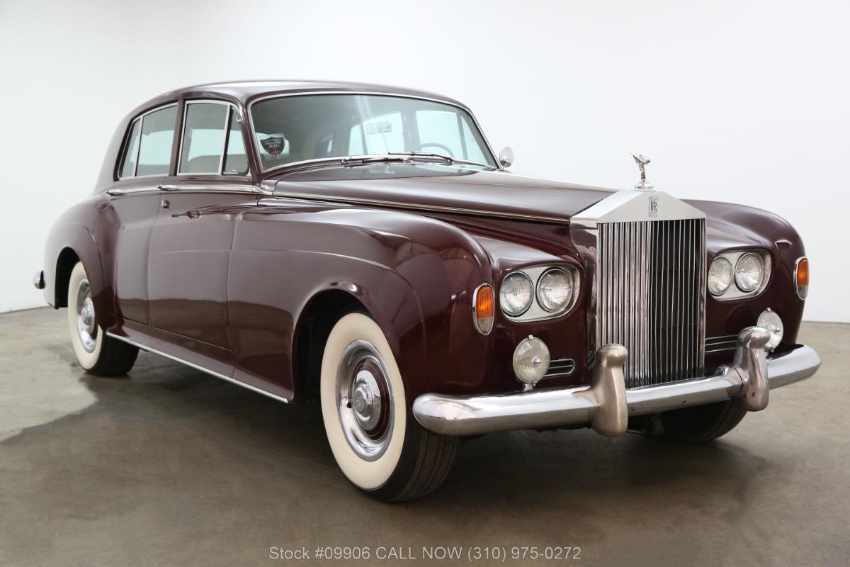 1963 Rolls Royce Silver Cloud III Left Hand Drive