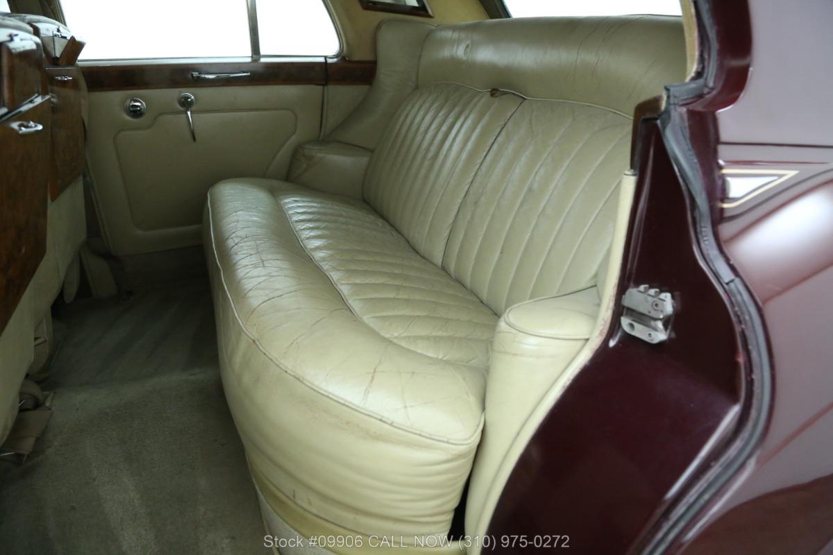 Used 1963 Rolls Royce Silver Cloud III Left Hand Drive | Los Angeles, CA