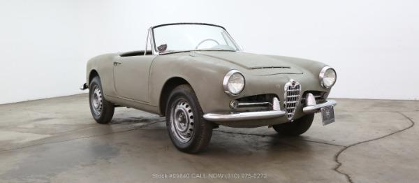 1962 Alfa Romeo Giulietta Spider