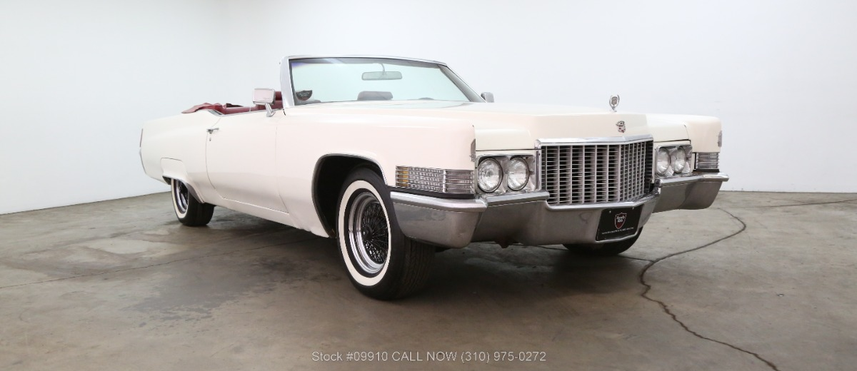 Used 1970 Cadillac Coupe DeVille Convertible | Los Angeles, CA