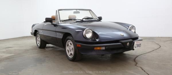 1989 Alfa Romeo Spider Veloce
