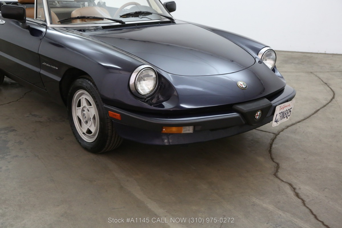 Used 1989 Alfa Romeo Spider Veloce  | Los Angeles, CA