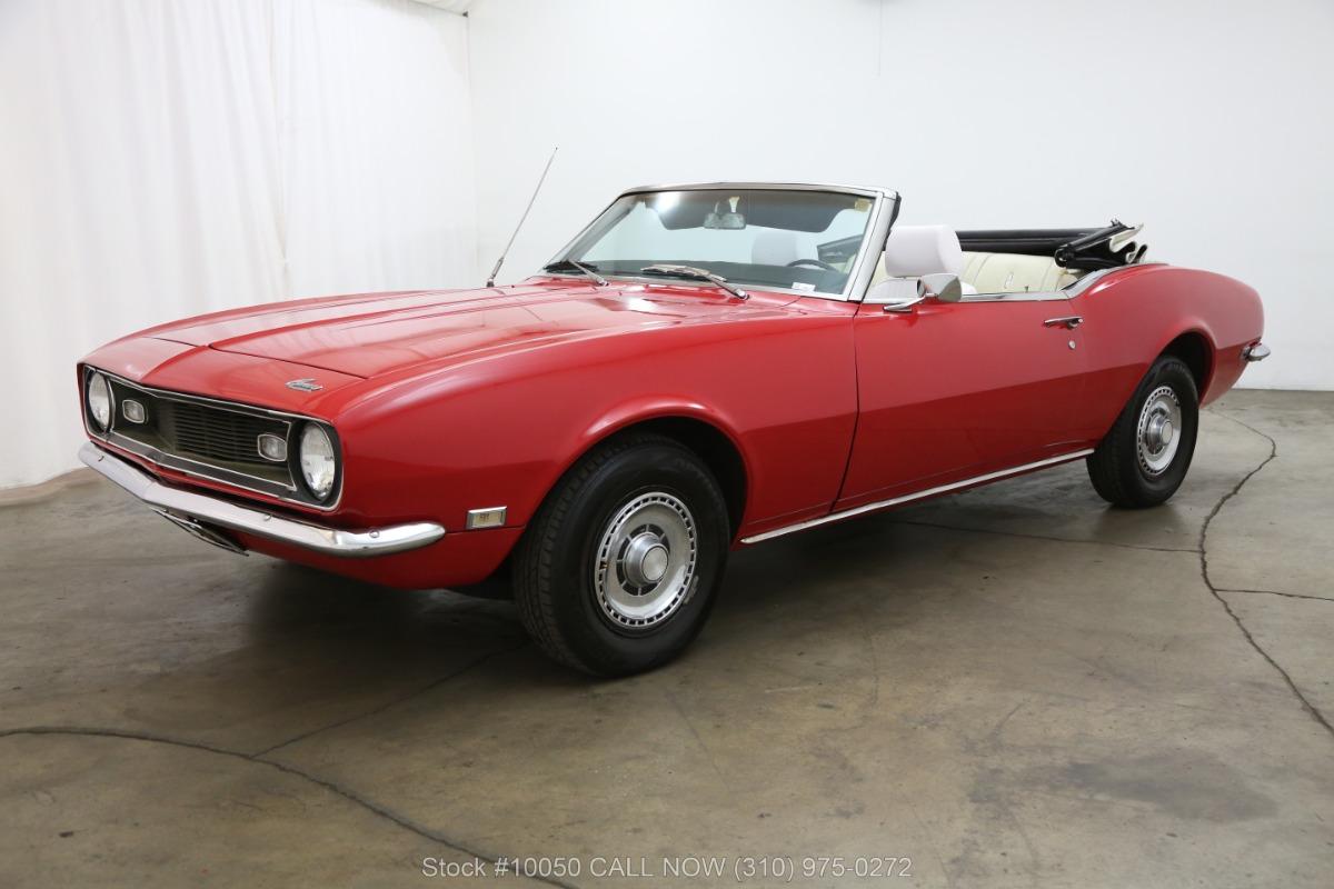 1968 Chevrolet Camaro Beverly Hills Car Club Convertible Used Los Angeles Ca