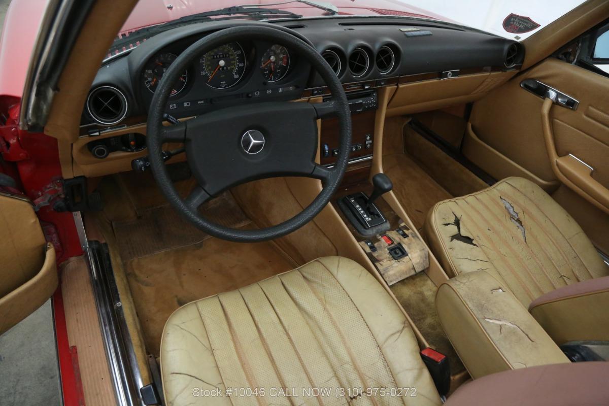 Used 1983 Mercedes-Benz 500SL Euro | Los Angeles, CA