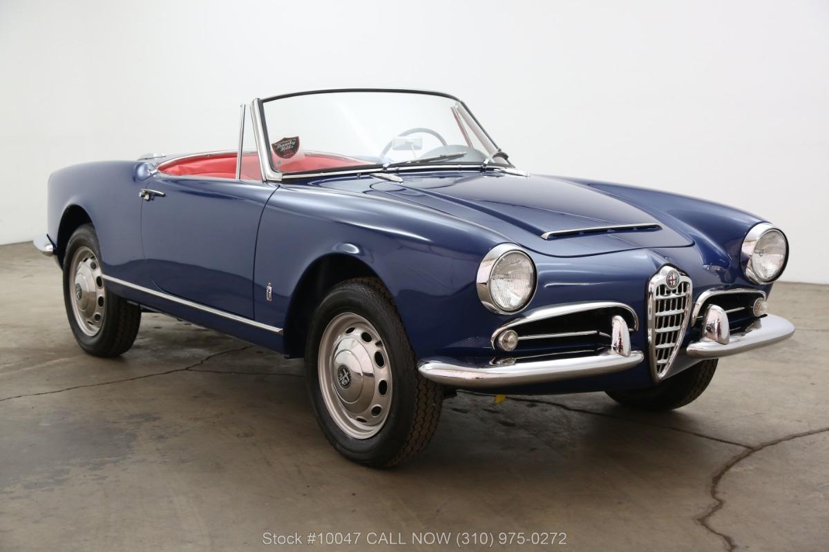 1965 Alfa Romeo Giulietta Spider 1600 Normale