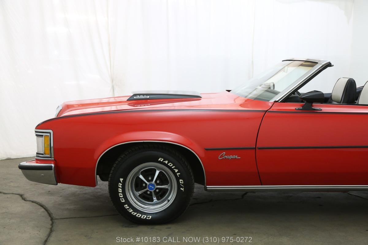 Used 1973 Mercury Cougar    Los Angeles, CA