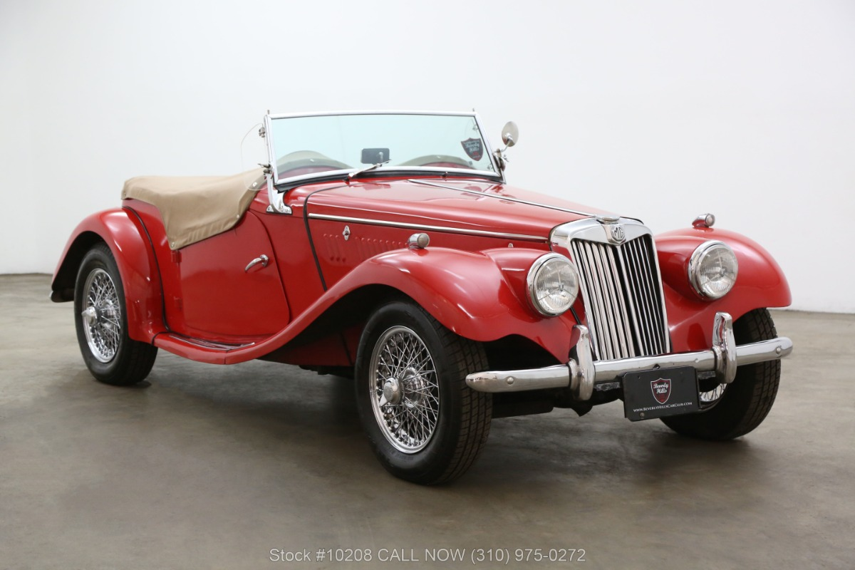 1955 MG TF Right Hand Drive