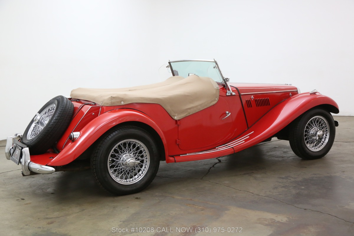 Used 1955 MG TF Right Hand Drive | Los Angeles, CA