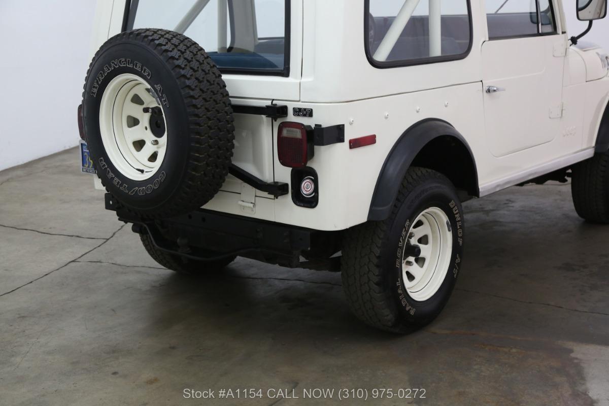 Used 1978 Jeep CJ7 4x4 | Los Angeles, CA