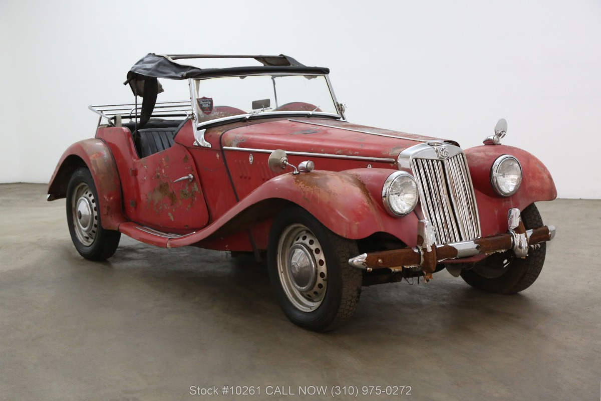 1954 MG TF Right Hand Drive