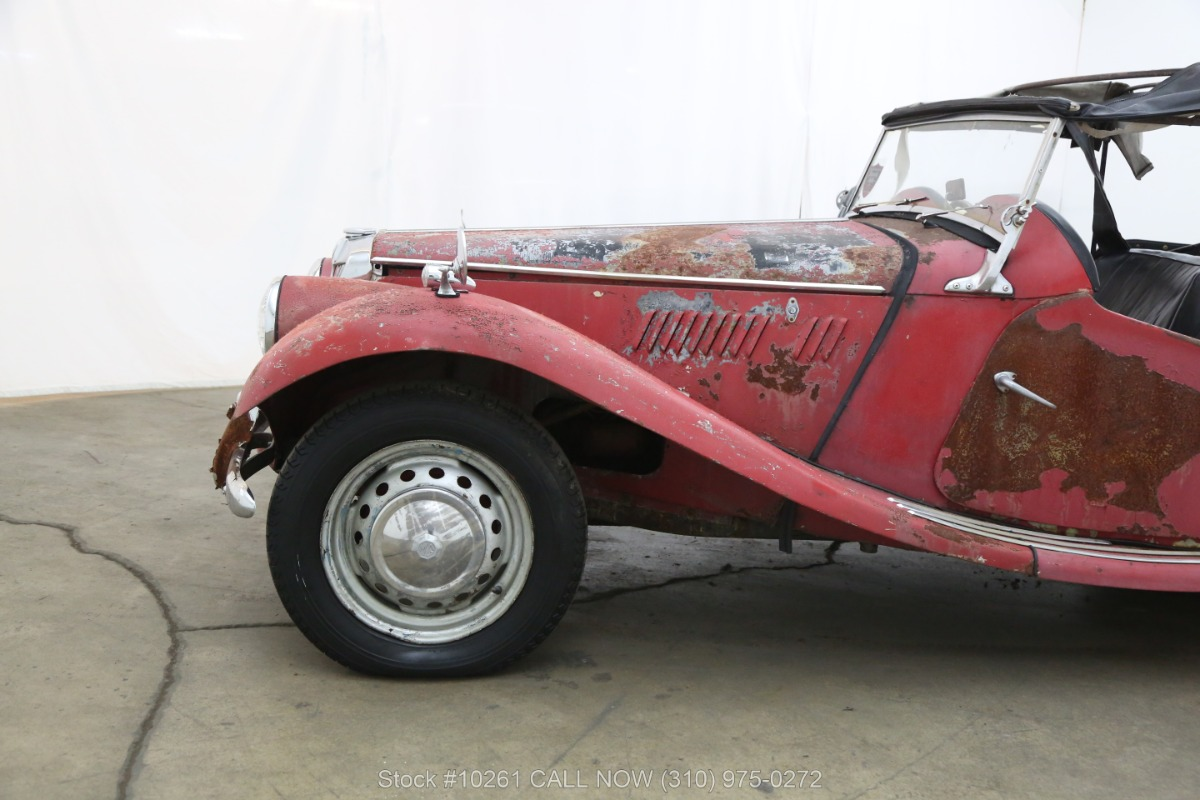 Used 1954 MG TF Right Hand Drive | Los Angeles, CA