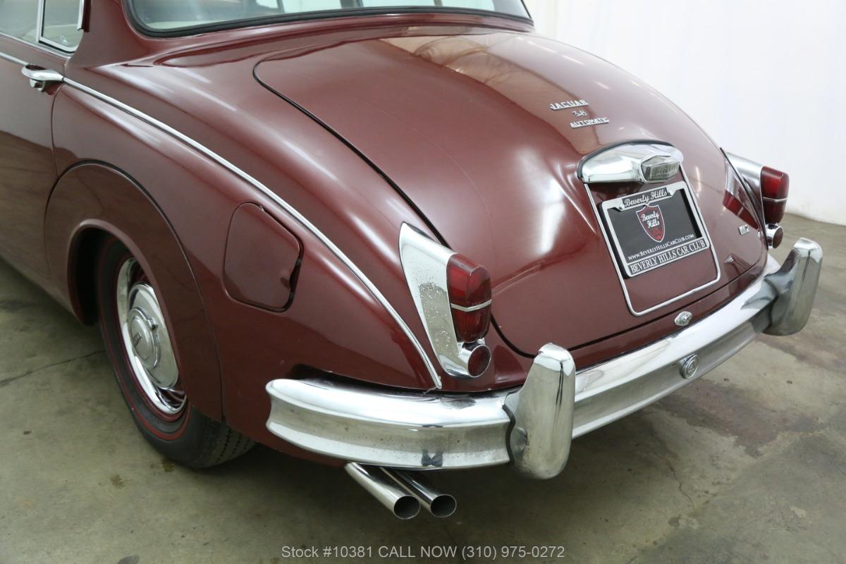1963 Jaguar Mark II 3.8   Beverly Hills Car Club