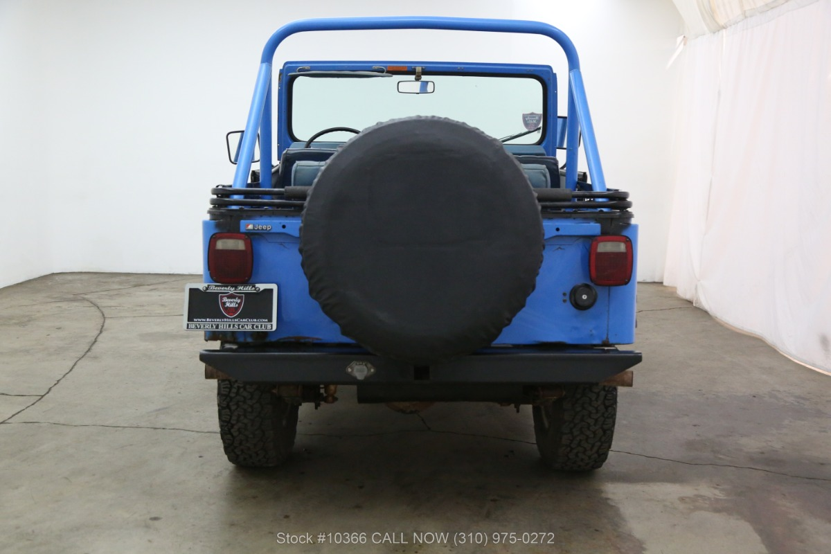 Used 1976 Jeep CJ5 Levis Edition with V8 | Los Angeles, CA
