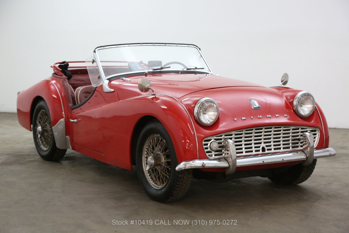 1960 Triumph Tr3 Beverly Hills Car Club