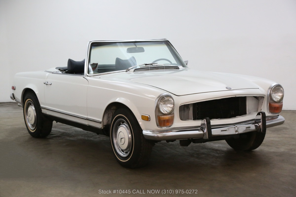 1971 mercedes benz 280sl pagoda beverly hills car club. Black Bedroom Furniture Sets. Home Design Ideas