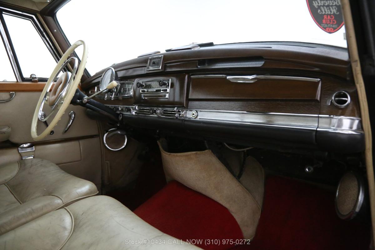 Used 1962 Mercedes-Benz 300D Adenauer | Los Angeles, CA
