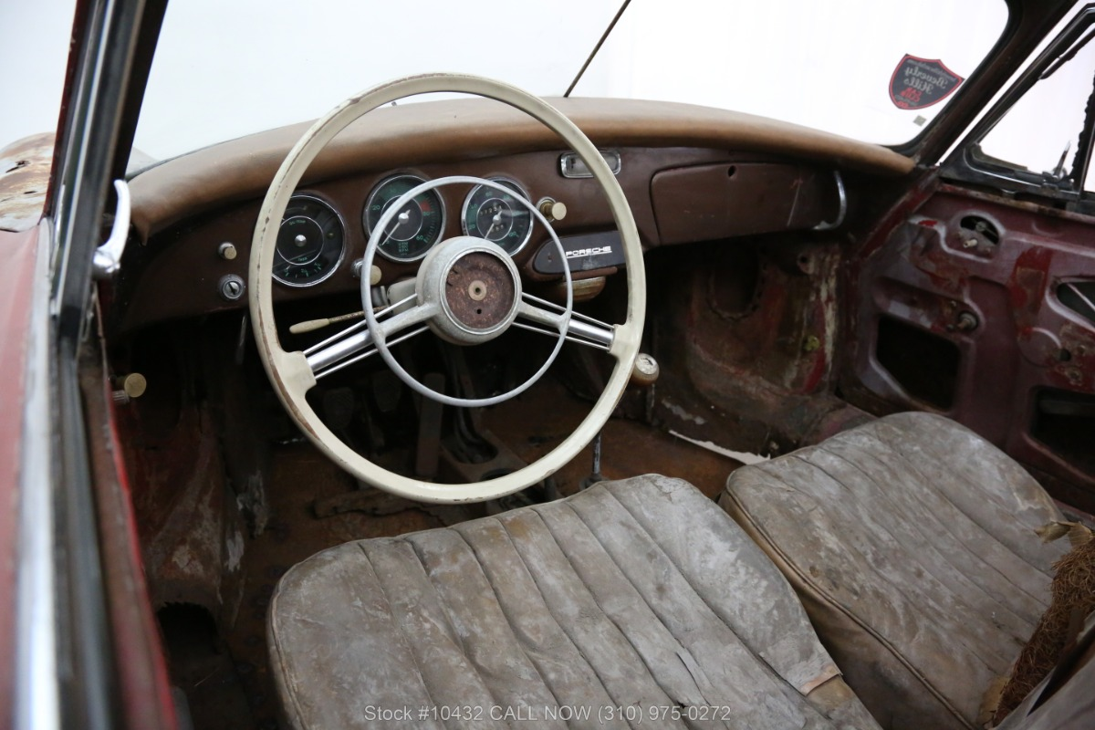 Used 1958 Porsche 356A Cabriolet with 2 tops   Los Angeles, CA