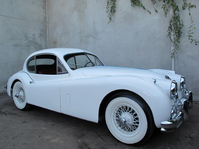 1955 Jaguar Xk140 Mc Fixed Head Coupe Beverly Hills Car Club