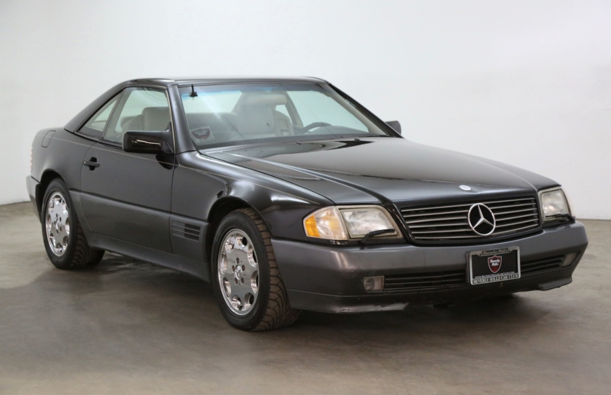 1991 Mercedes-Benz 500SL with 3 Tops
