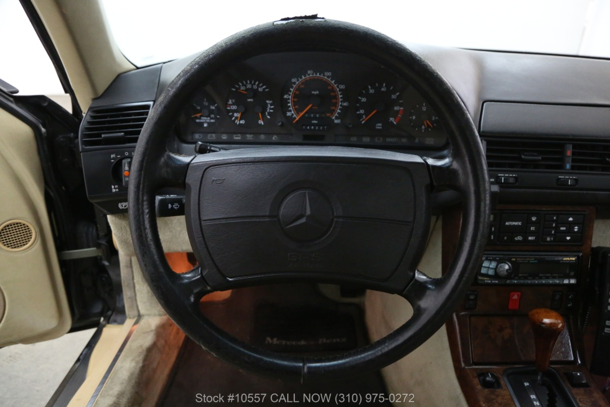 Used 1991 Mercedes-Benz 500SL with 3 Tops | Los Angeles, CA